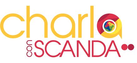 Logo charlas con scanda transp